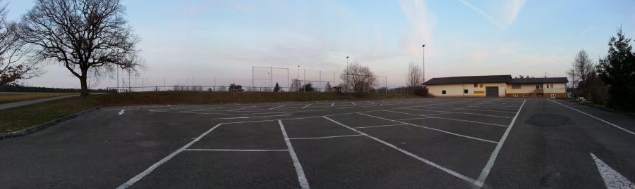 Panorama Parkplatz
